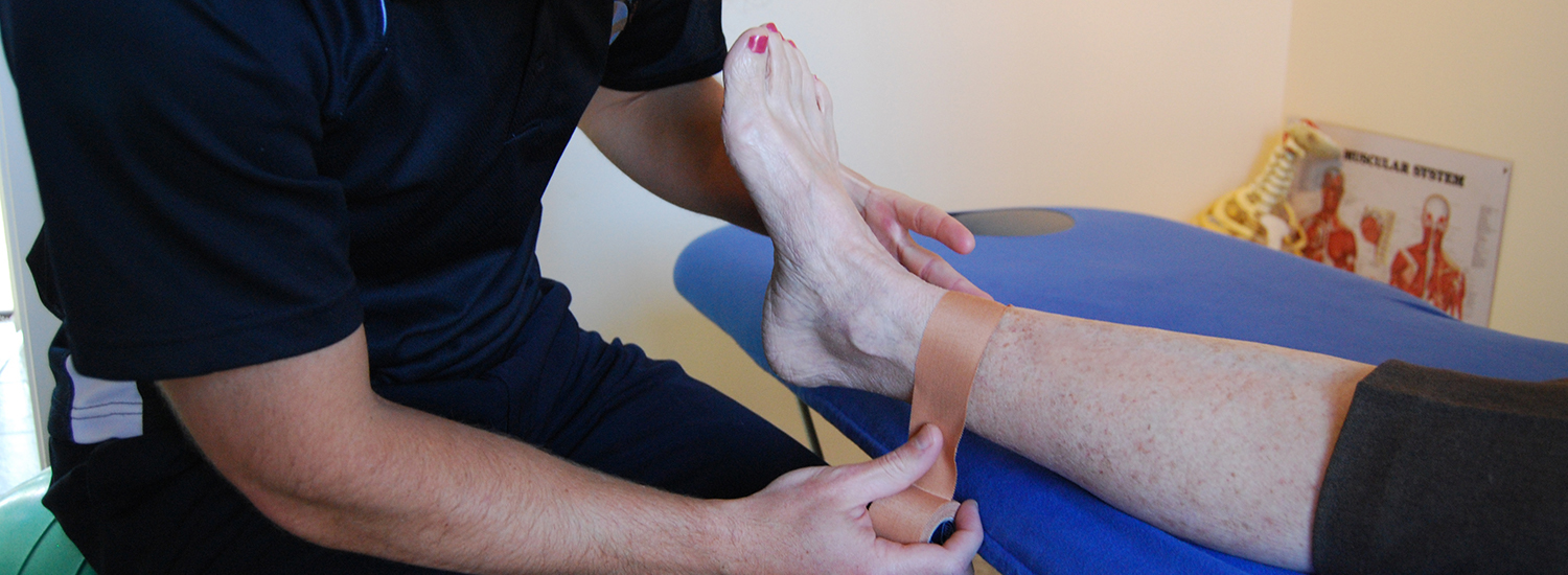 Sports Physiotherapy Ankle Strapping Courses