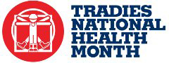 Tradies National Health Month logo